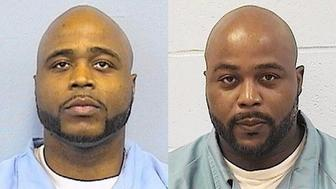 Karl Smith left and his twin brother Kevin Dugar