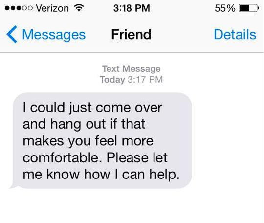 社会不安障害を抱えている人が、約束をキャンセルした時。伝えてあげたい17の言葉
