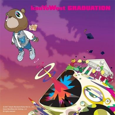 It reportedly took West and Murakami two to three years to land on a final design for West's graduation album art.