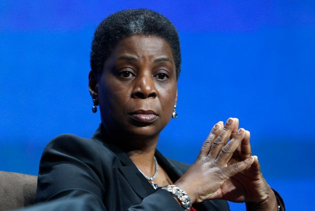 Xerox chairman and CEO Ursula Burns is seen atthe 2012 International Consumer Electronics Show...