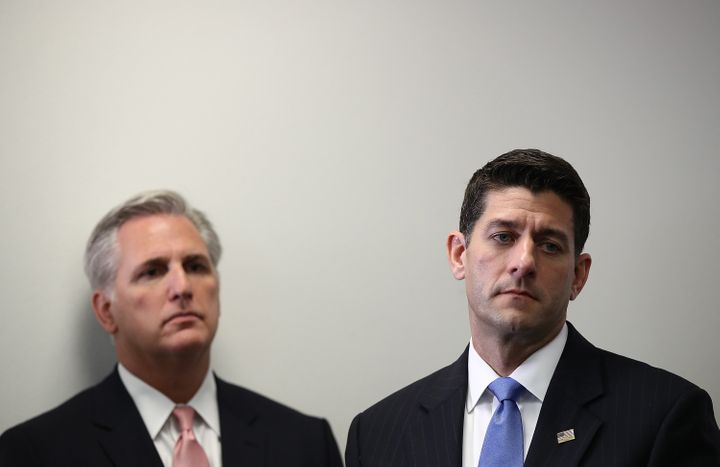 House Majority Leader Kevin McCarthy and House Speaker Paul Ryan promise they'll get to Flint later.