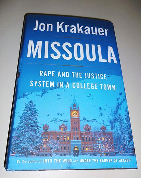 """Jon Krakauer's """"Missoula"""""""