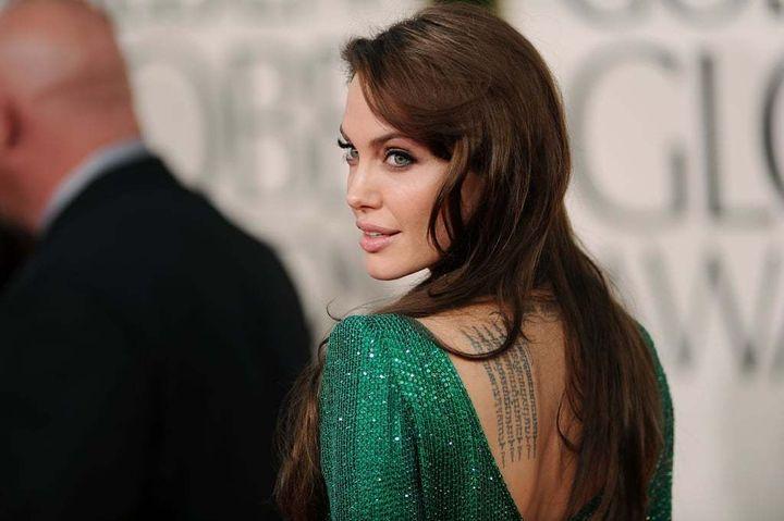 Angelina Jolie @ 2011 Golden Globes
