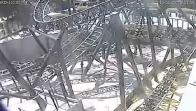 Footage of the Smiler crash was released in
