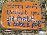 Mum Mistakenly Accuses Daughter Of Taking Drugs, Makes Hilarious Cake To Apologise