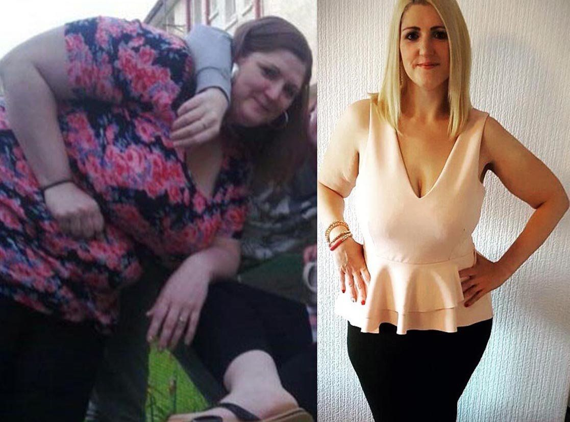 How This 20-Stone Woman Lost Half Her Body Weight In Seven