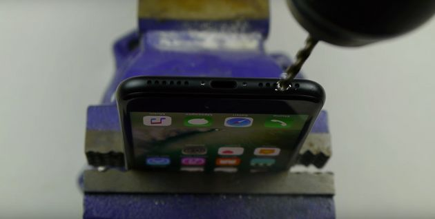 People Are Actually Drilling A Hole Into Their iPhone 7 Following A Prank