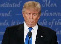 Donald Trump Had A Case Of The Sniffles At The First Debate