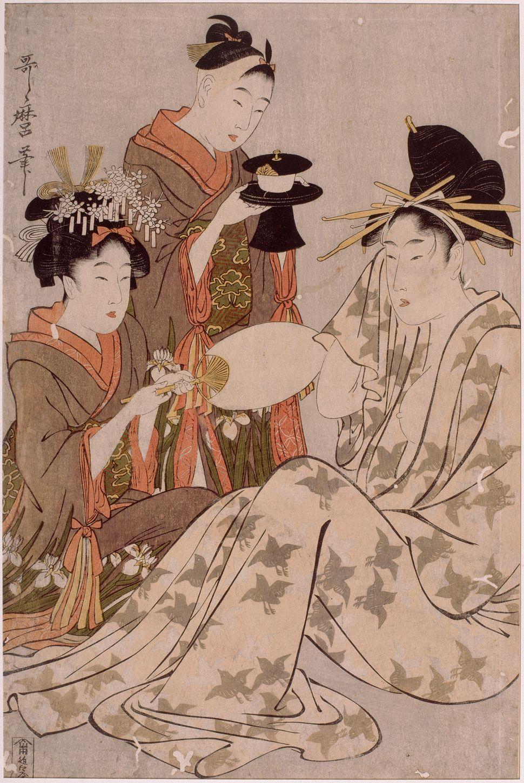 Torii Kiyonaga,1781-1788