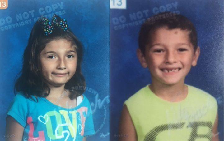 Liliana Hernandez, 7, and Rene Pasztor, 6, were the focus of an Amber Alert in Indiana on Monday.