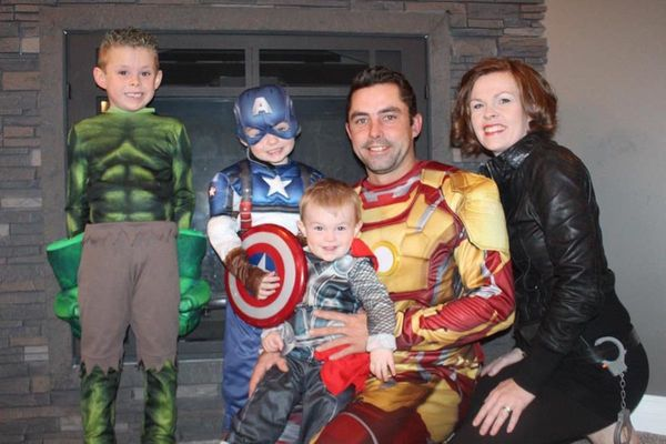 michelle van petten - Family Halloween Costumes For 4