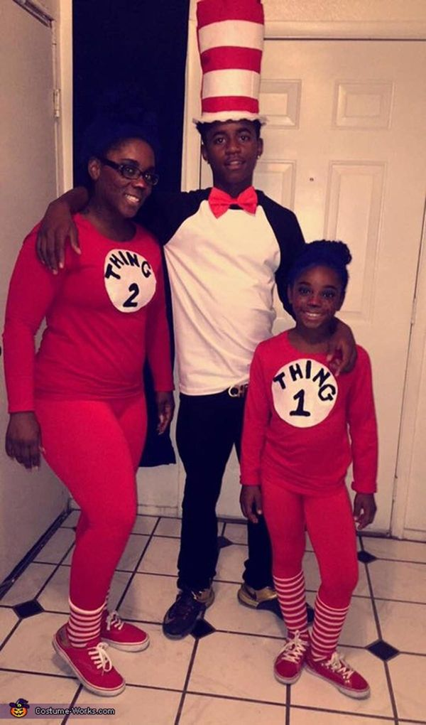 59 family halloween costumes that are clever cool and extra cute huffpost - Cute And Clever Halloween Costumes