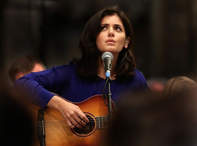 Katie Melua performed during the