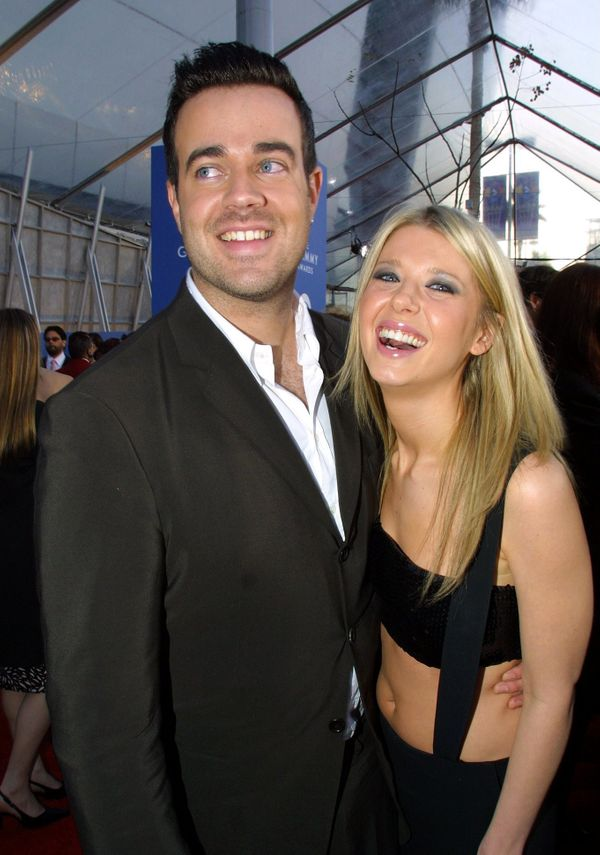 """The pair, who met on the set of """"TRL,"""" wereengaged for about eight months before calling it quits in June 2001."""