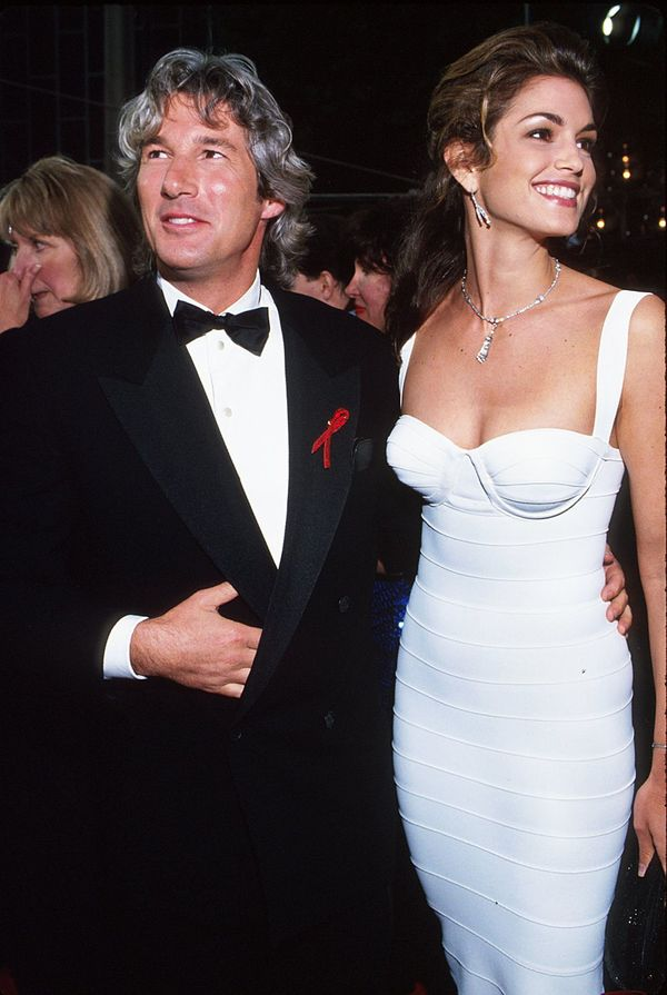 The actor and supermodel were married from 1991 to 1995.