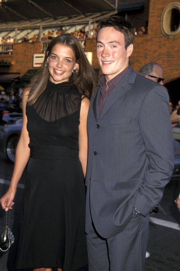 The pair met in 2000 and got engaged in 2003. They called off the engagement in 2005, and shortly after, Holmes met and marri