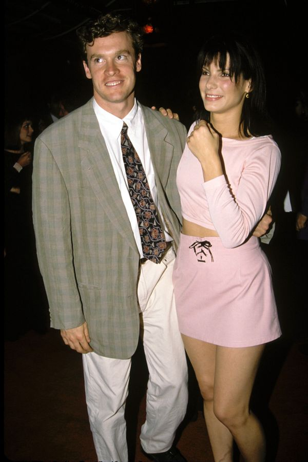 """Bullock was once engaged to the actor, after theymet while filming """"Love Potion No. 9"""" in 1992. Theirrelationship"""