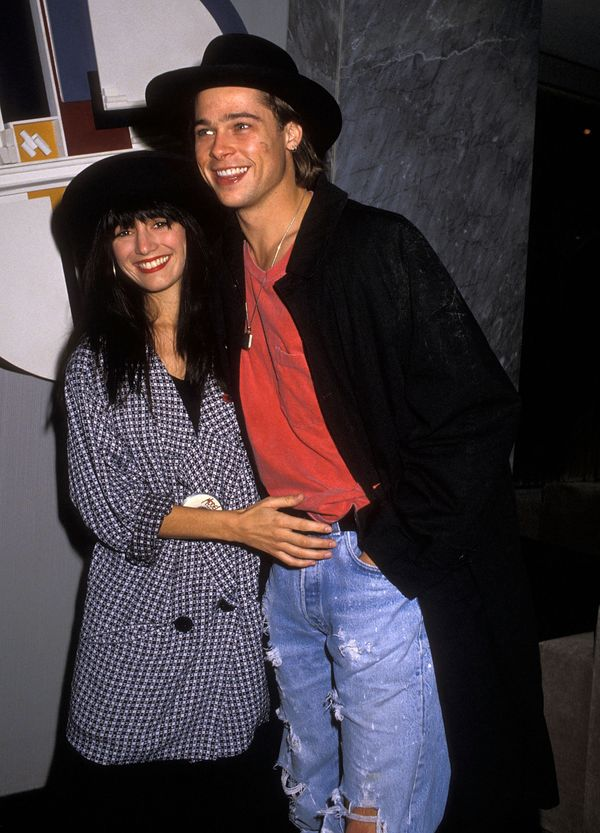 """Before he was """"Brad Pitt,"""" the actorwas engaged to Schoelen for three months in 1989. They ended their engagement after"""