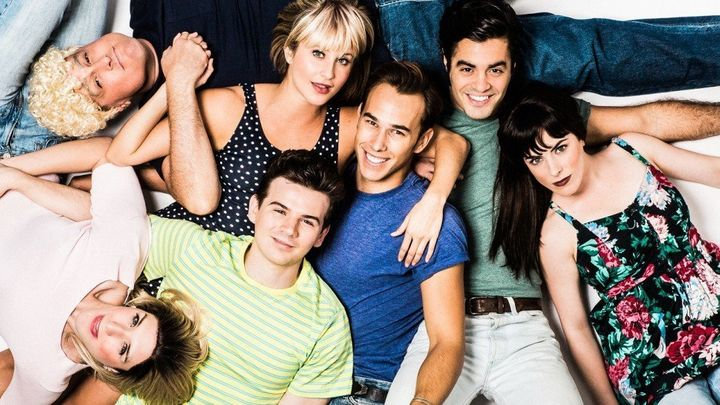 "The cast of ""90210! The Musical"""