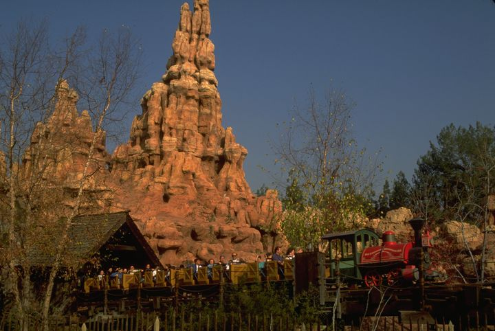 The study recommended moderate-intensity rides that feature quick drops and sharp turns, like Disney's Big ThunderMountain Railroad (pictured).