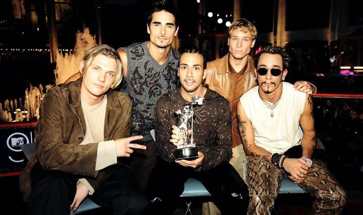 The Backstreet Boys in1999.