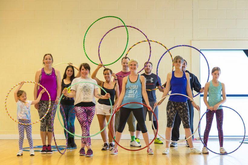Spinsonic Hula Hoop Class in Birmingham