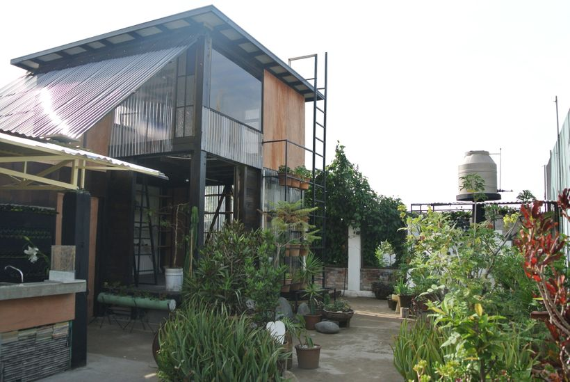 The Jewel Box project, designed and built in 90 days during an architectural residency in Guatemala City.