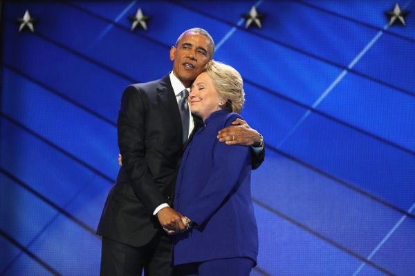 We like to think that President Obama and Hillary Clinton discussed coordinating their bluesthe night before.