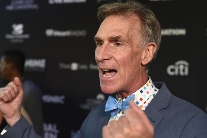 "Bill Nye, above, said he's ""open-minded but skeptical"" about Elon Musk's plan to colonize Mars."