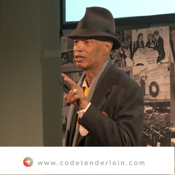 Del Seymour, founder of Code Tenderloin.