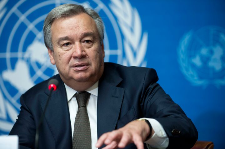 António Guterres, candidate for UN Secretary-General and former UNHCR High Commissioner for Refugees