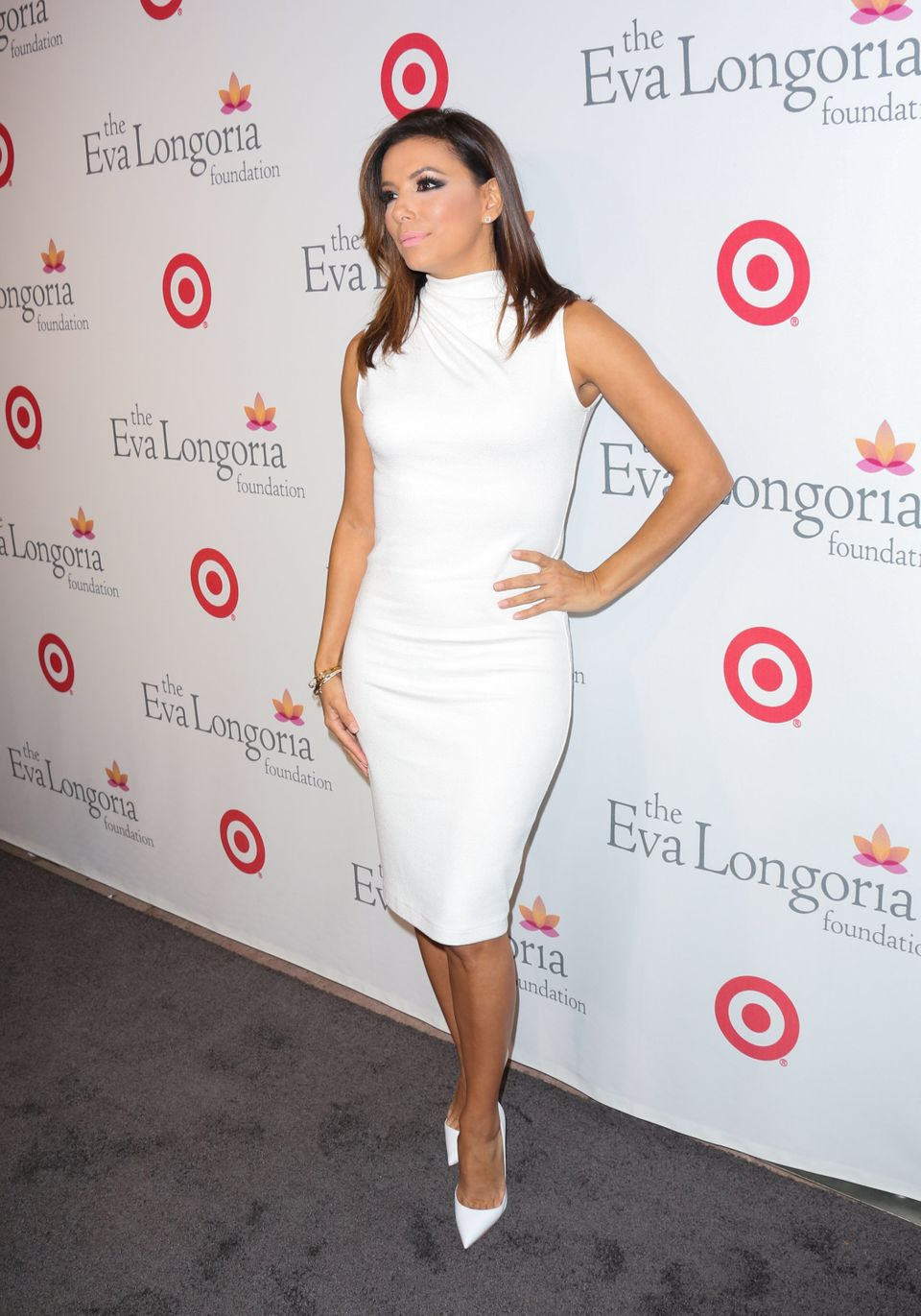 Eva Longoria attends The Eva Longoria Foundation annual dinner at Beso on November 5, 2015 in Hollywood,