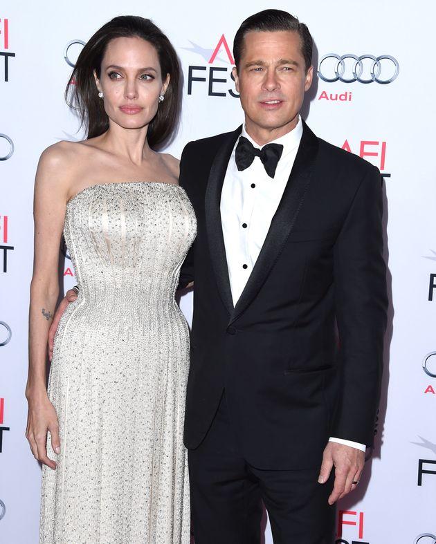 Angelina Jolie and Brad