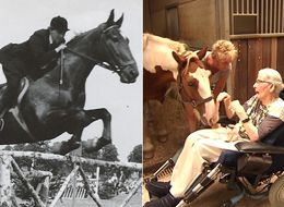 Former Show Jumper With Parkinson's Disease Granted Wish To Ride A Horse One Final Time