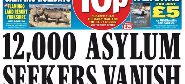 We Fact Checked The Daily Express Claim 12,000 Asylum Seekers Are 'On The Run'