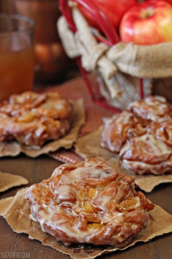 """<strong>Get the <a href=""""http://www.sugarhero.com/apple-cider-fritters/"""" target=""""_blank"""">Apple Cider Fritters recipe</a> from"""