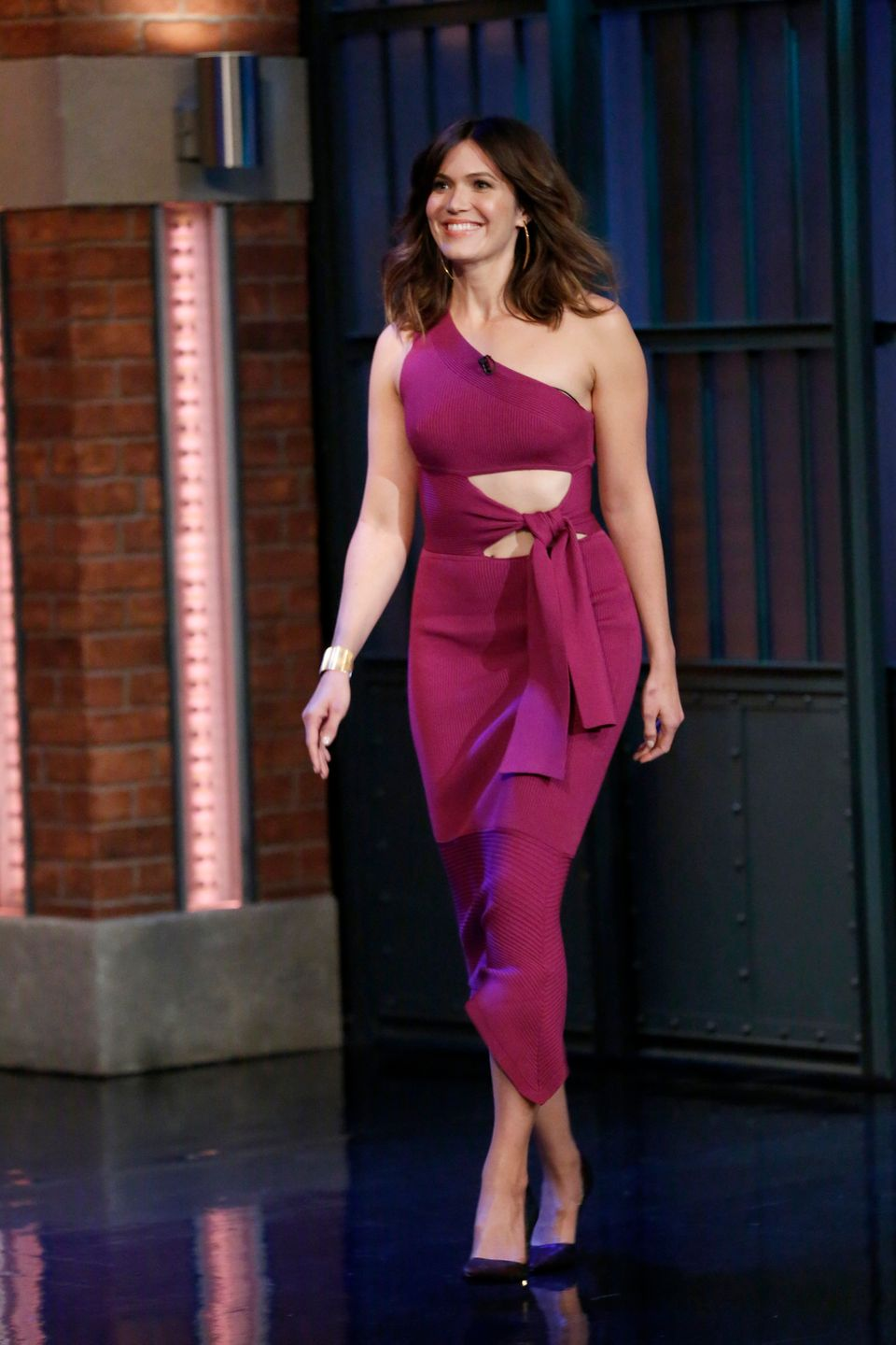 "On ""Late Night with Seth Meyers"" on Sept. 26 in New York City."