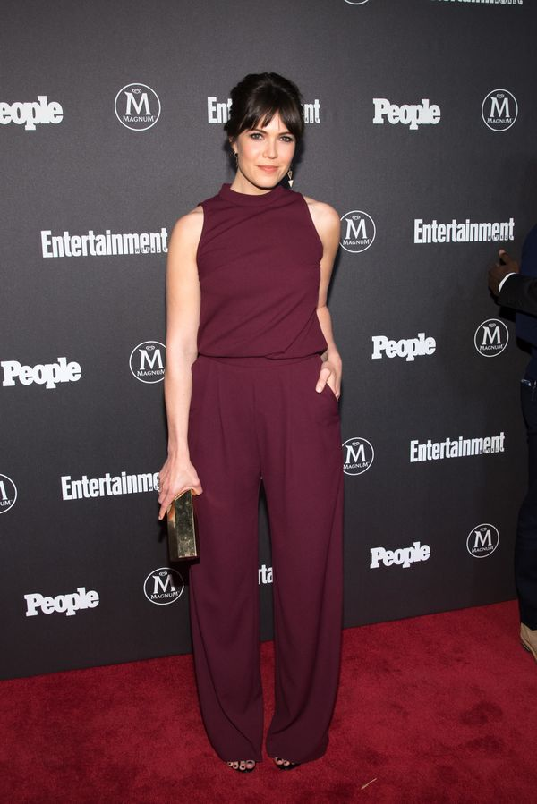 At the Entertainment Weekly & People upfront on May 16 in New York City.