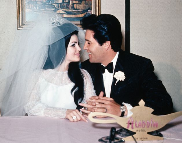 Priscilla and Elvis married in