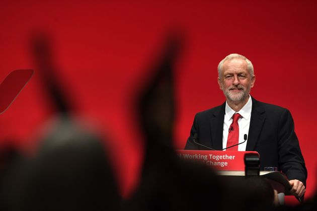 Jeremy Corbyn speaks on the fourth day of the annual Labour Party conference in