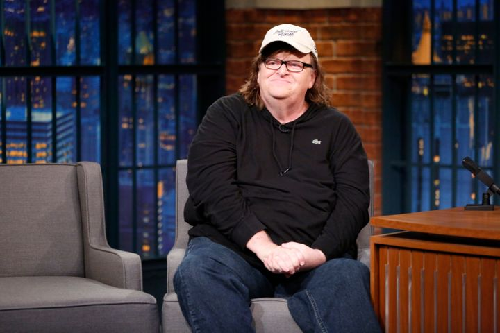 """We all lost,"" Michael Moore tweeted after Republican nominee Donald Trump and Democratic nominee Hillary Clinton d"
