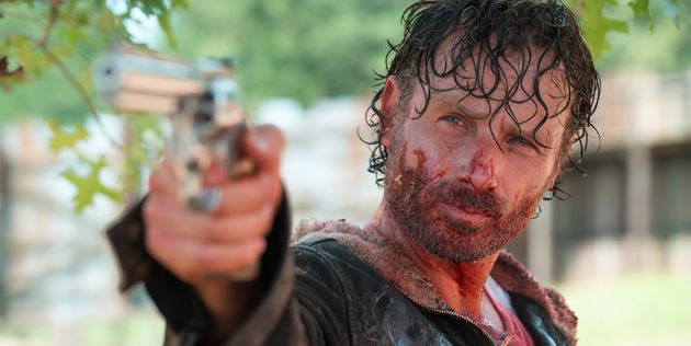 Playing Rick Grimes has made Andrew Lincoln one of the most recognised TV faces in the