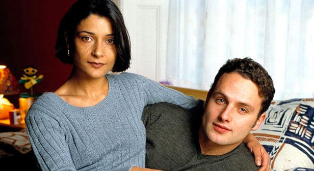 Back in the day... Andrew Lincoln played Egg alongside Amita Dhiri as Milly in 'This