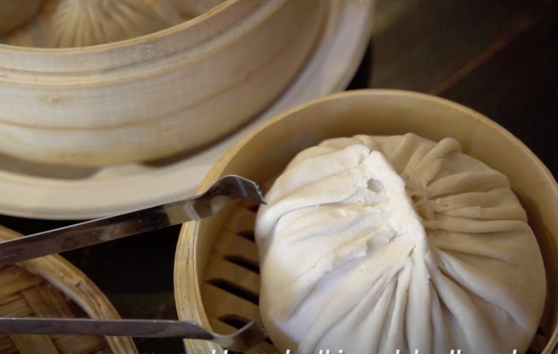 The Drunken Dumpling Shops signature dumpling