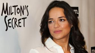 HOLLYWOOD, CA - SEPTEMBER 27:  Actress Michelle Rodriguez attends the premiere of 'Milton's Secret' at The TCL Chinese 6 Theatres on September 27, 2016 in Hollywood, California.  (Photo by Paul Archuleta/FilmMagic)