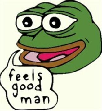 This is Pepe, not being racist.