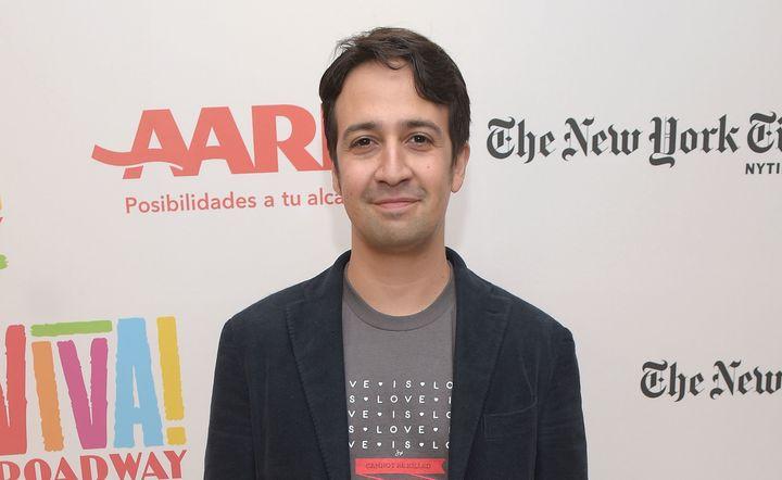 "Lin-Manuel Miranda is getting his shot at hosting ""Saturday Night Live!"""
