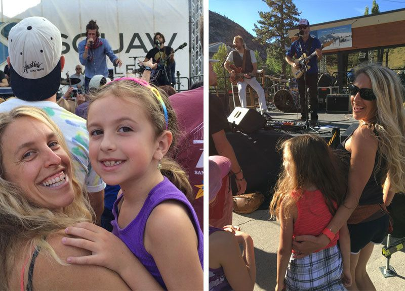 Our family enjoying live music together with The Revivalists and The Mother Hips