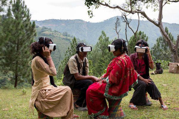 WaterAid Debuts 'Aftershock' - VR Film Starring Inhabitants Of Nepalese Village Devastated By Earthquake