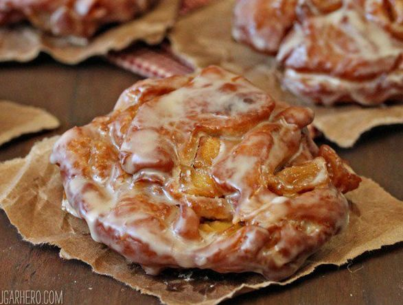 how to make apple fritters at home